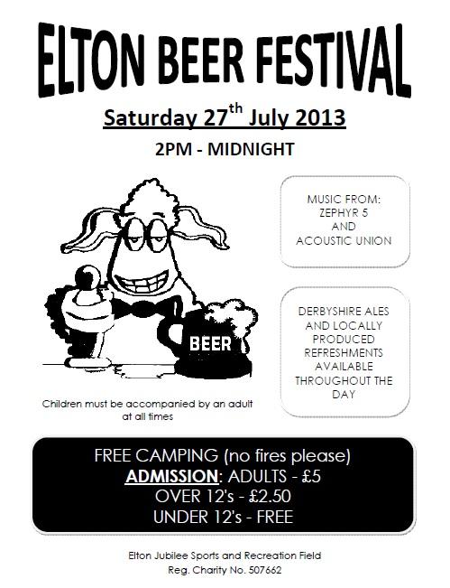 Elton Beer Festival 2013