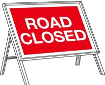 3 local road closure notices