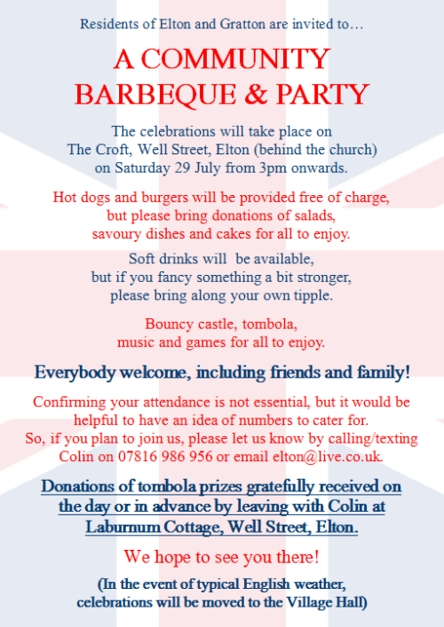 Community BBQ & Party 2017