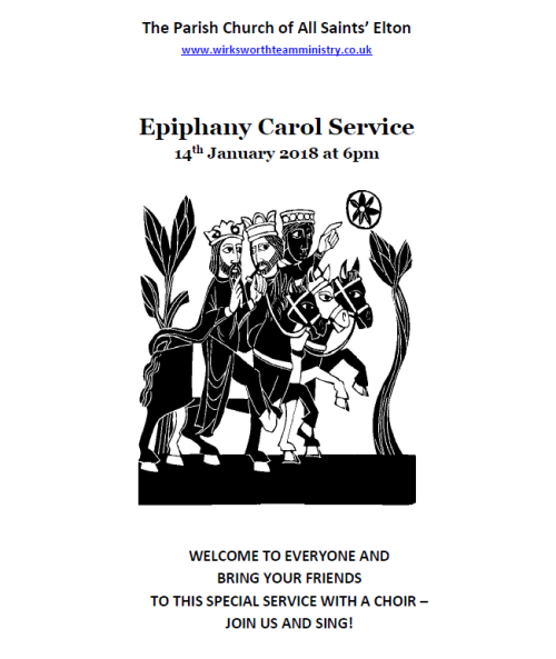 All Saints Epiphany Carol Service - 14 January 2018