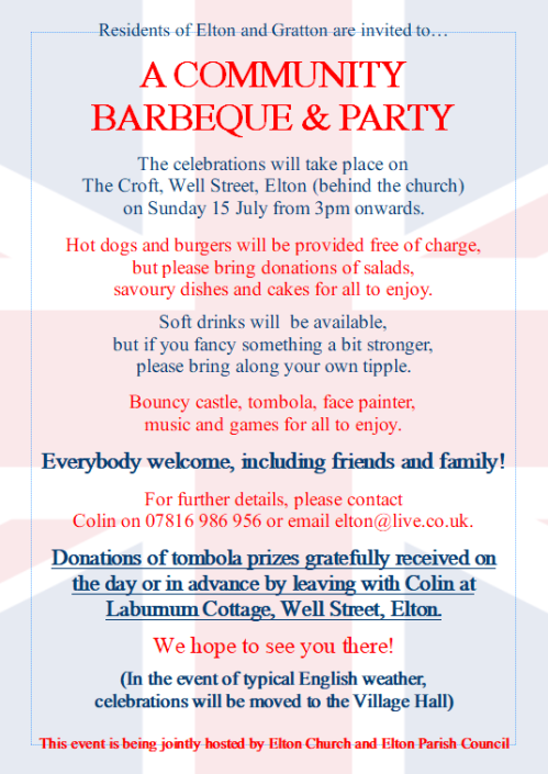 Community BBQ and Street Party