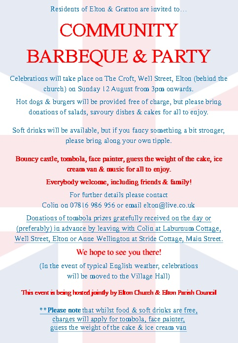 Community BBQ & Party