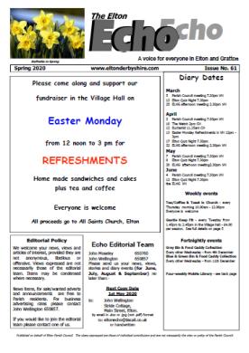 Elton Echo Issue 61 (Spring 2020)